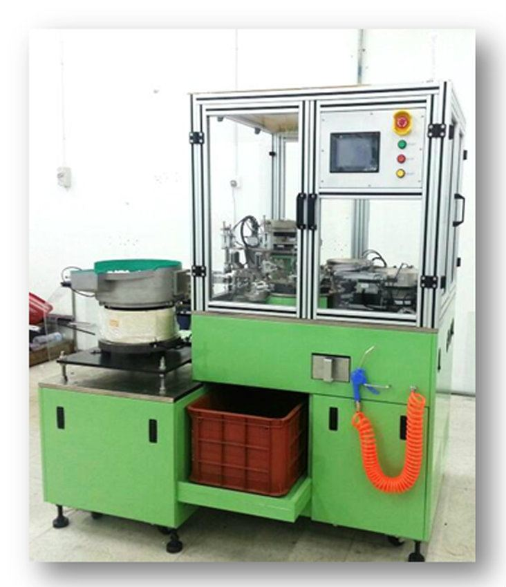 Auto Capping - Assembly Machine