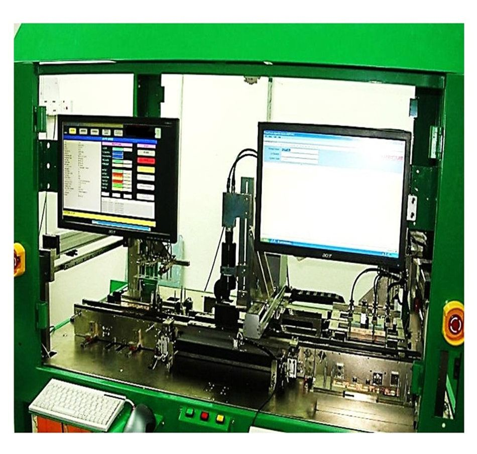 Lead-frame X/Y-axis - Vision Inspection Machine