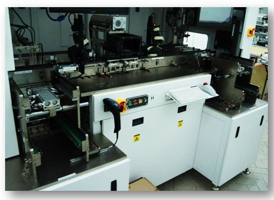 Lead-frame Laser Marking Machine - Magazine to Magazine