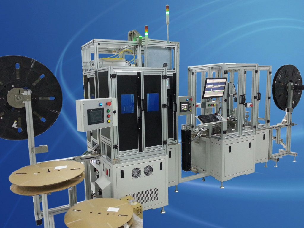 MPC & wafer laser spot welding machine