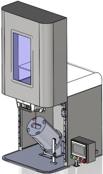 Desktop Marking Station With Rotary Chunk