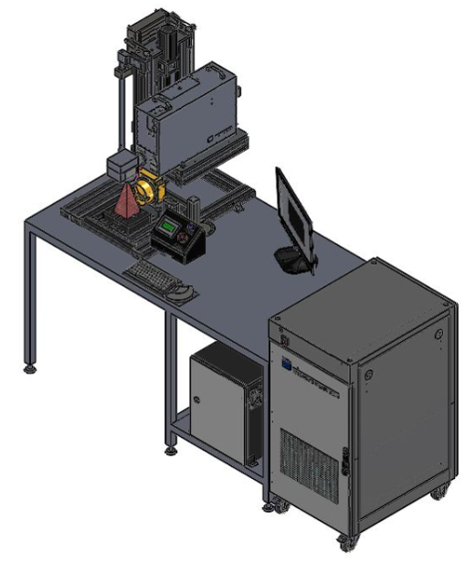 Standalone Marking Station With Workbench